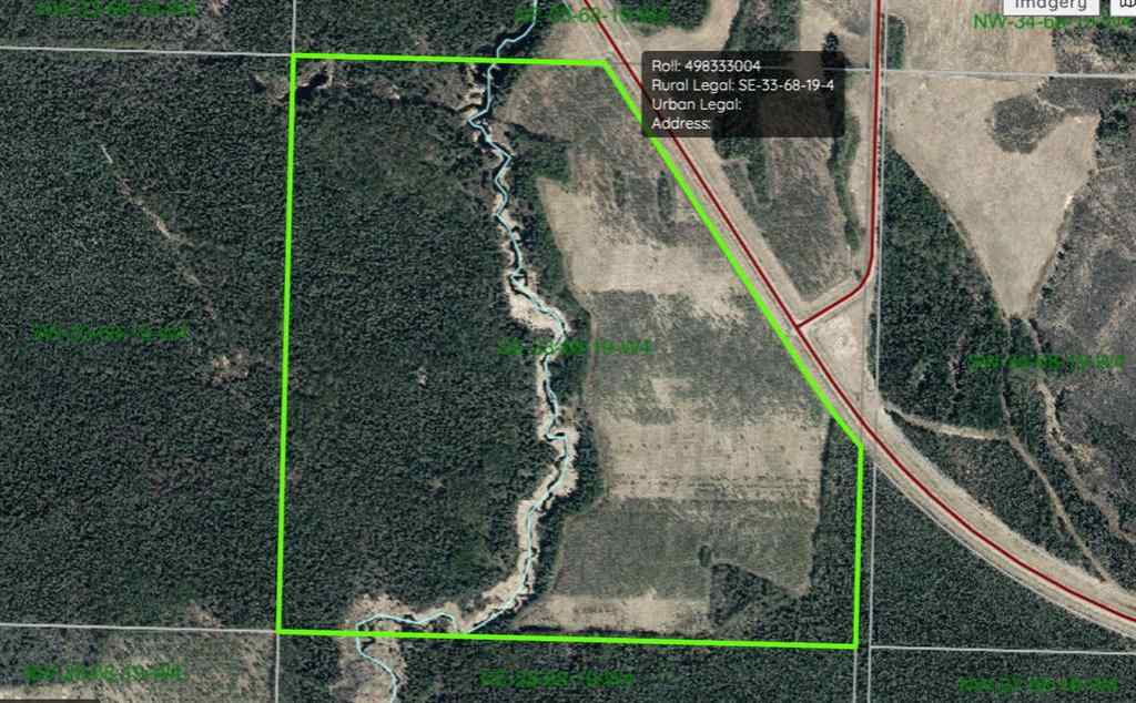 MLS® # A1070651 - 685A Township Road   in NONE Athabasca, Land Open Houses