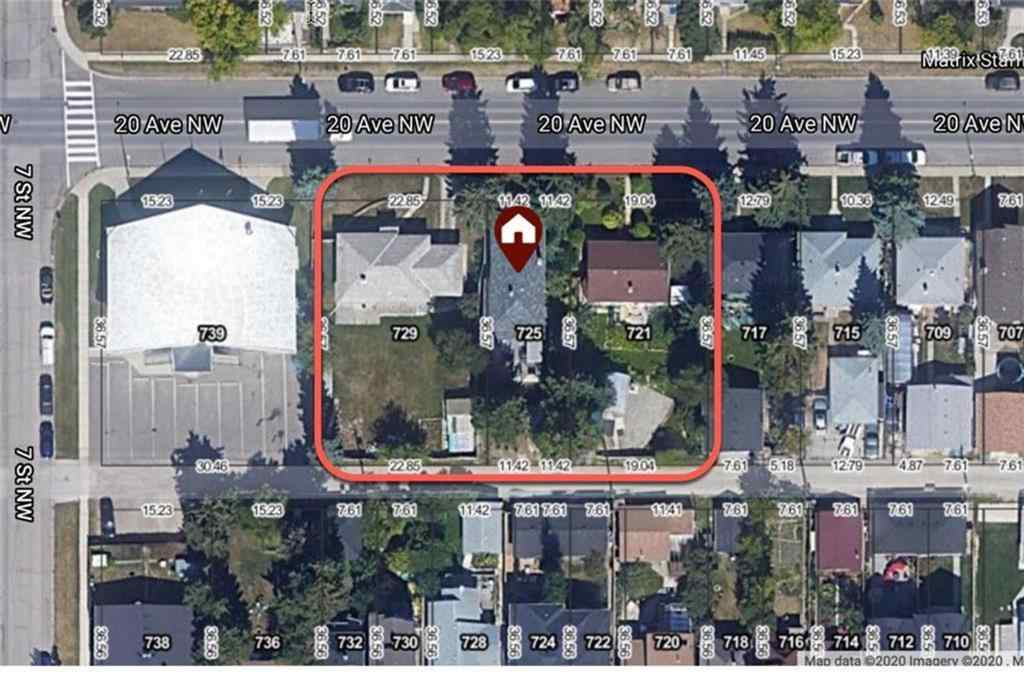 MLS® # A1071336 - 729 20 Avenue NW in Mount Pleasant Calgary, Land Open Houses