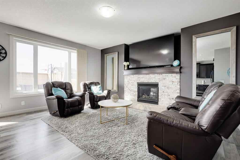 MLS® # A1091175 - 1438 Ravenscroft Avenue SE in Ravenswood Airdrie, Residential Open Houses