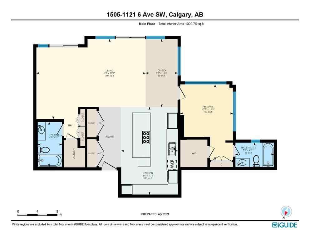 Unit 1505 1121 6 Avenue Sw Calgary Alberta T2p 5j4 Mls A1101028
