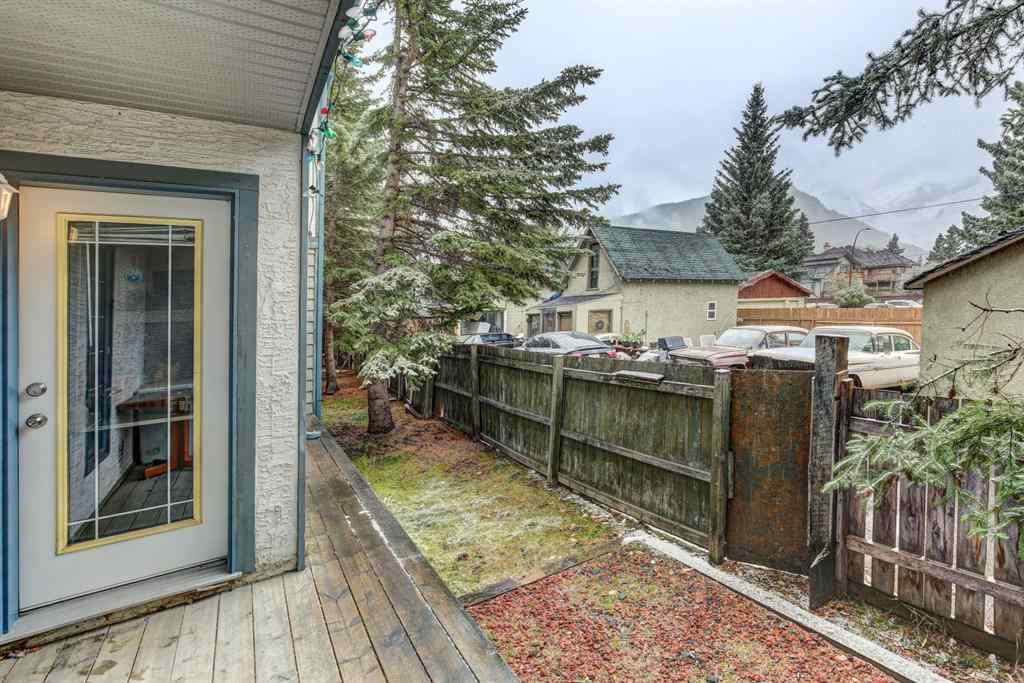 MLS® #AW52212 - Unit #B 319 MARTEN STREET   in  Banff, Residential Open Houses