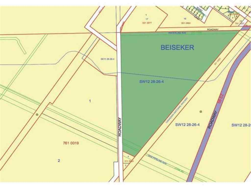 MLS® #C4051754 - W4, R26, T28, Sec 12, SW Beiseker   in NONE Beiseker, Land Open Houses