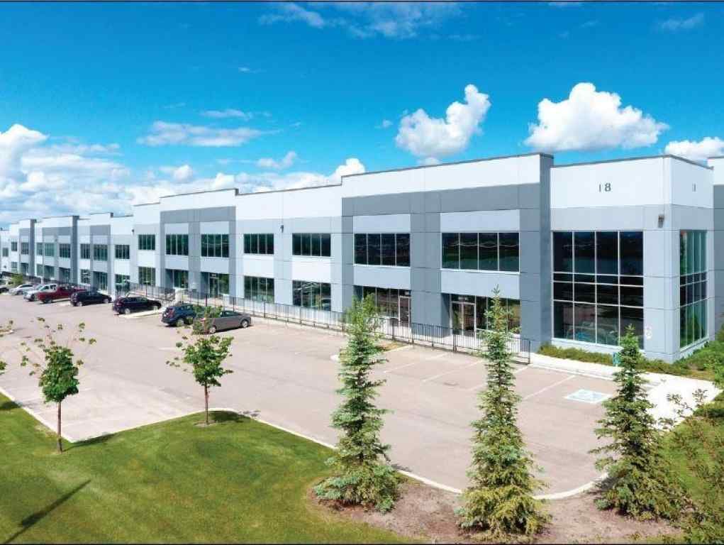 MLS® # C4258853 - Unit #111 & 113 18 HIGHLAND PARK Way NE in East Lake Industrial Airdrie, Commercial Open Houses
