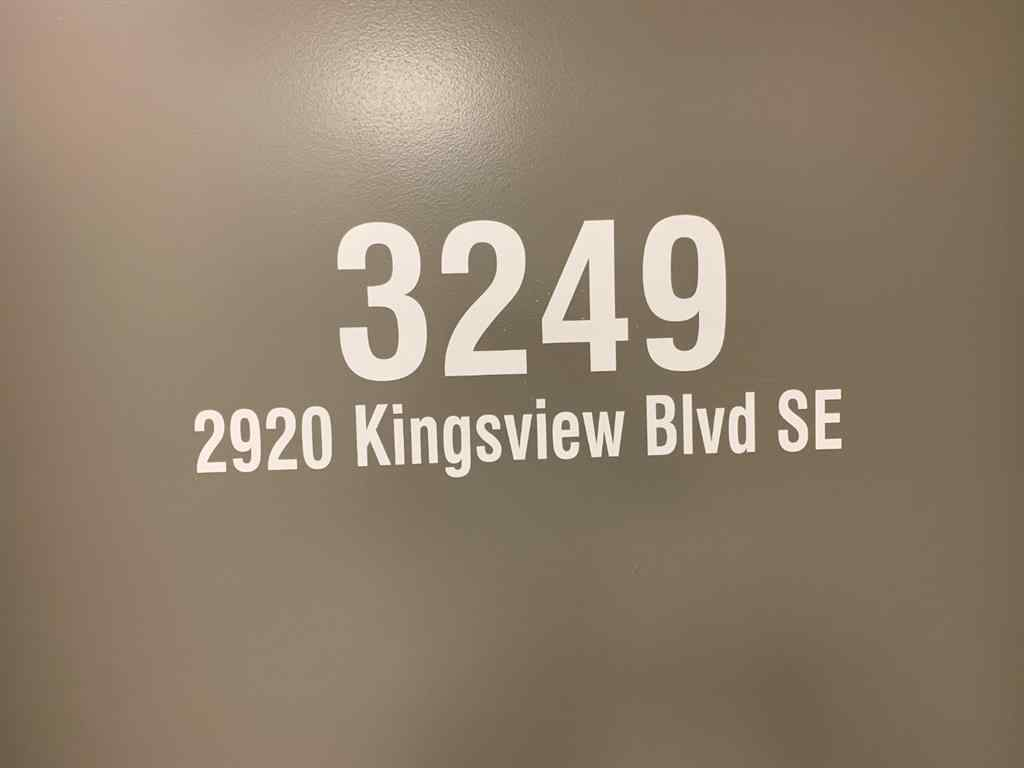 MLS® #C4261111 - Unit #3149 2920 Kingsview Boulevard SE in Kingsview Industrial Park Airdrie, Commercial Open Houses