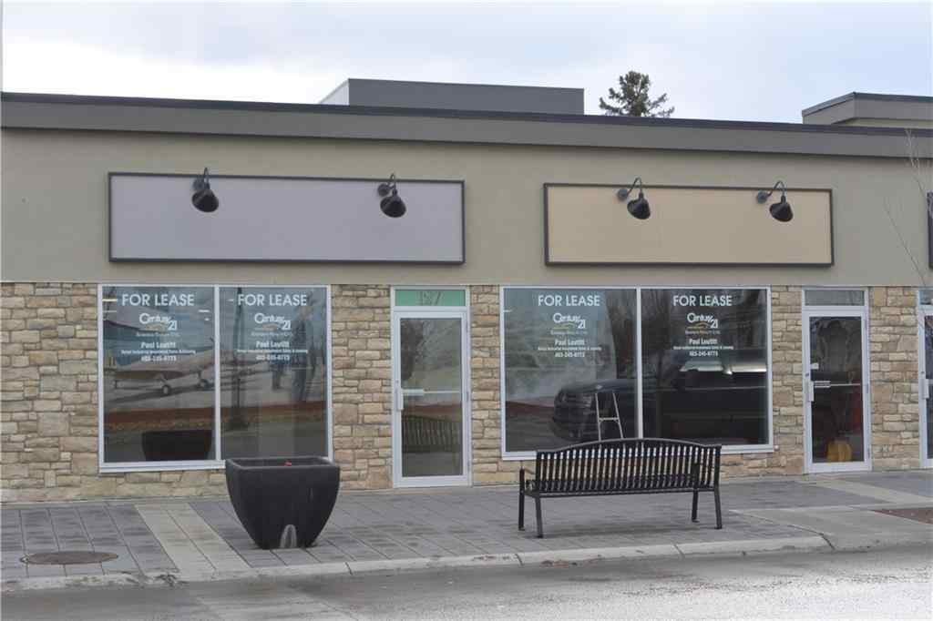MLS® #C4285783 - Unit #3 127 3 Avenue SW in  High River, Commercial Open Houses