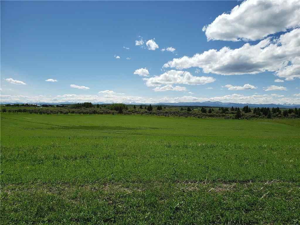 MLS® # C4293551 -  Township 244 Road  in Springbank Rural Rocky View County, Land Open Houses