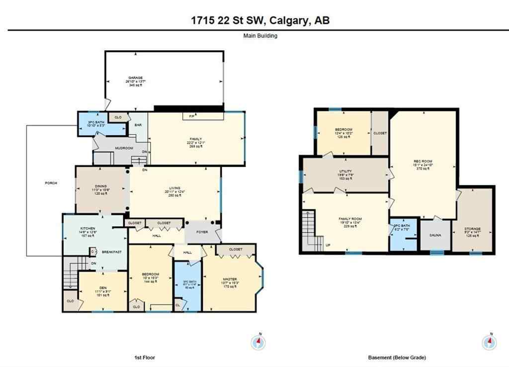 MLS® #C4297737 - 1715 22 Street SW in Scarboro/Sunalta West Calgary, Residential Open Houses