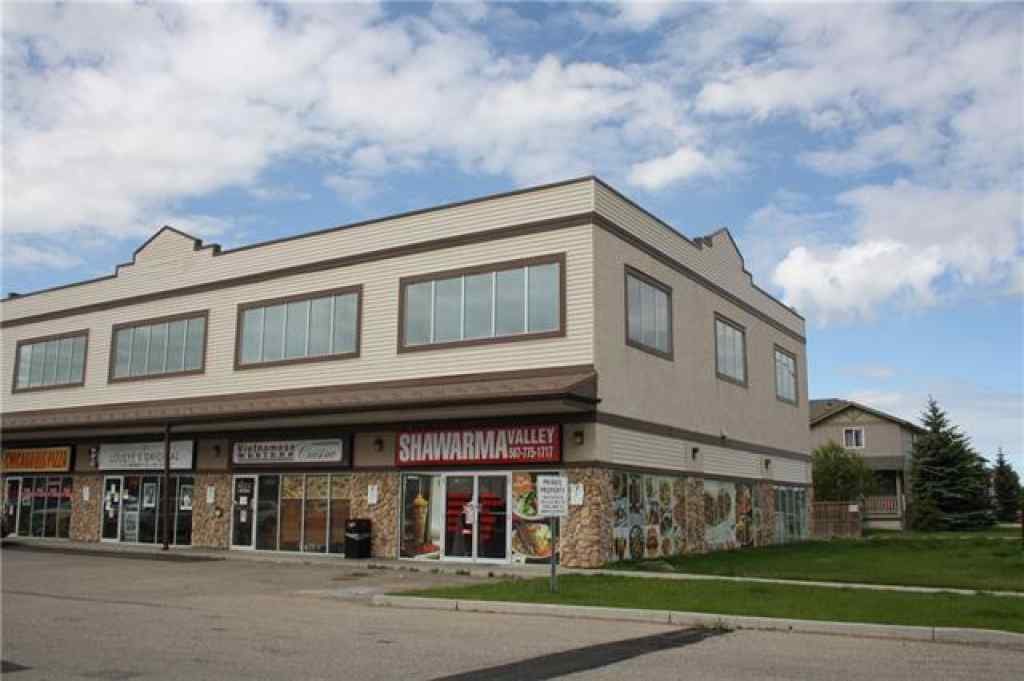 MLS® #C4302608 - Unit #209 2002 LUXSTONE Boulevard SW in Luxstone Airdrie, Commercial Open Houses
