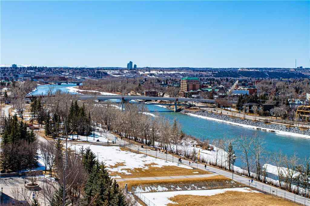 MLS® #C4303504 - Unit #1110 738 1st Avenue SW in Eau Claire Calgary, Residential Open Houses