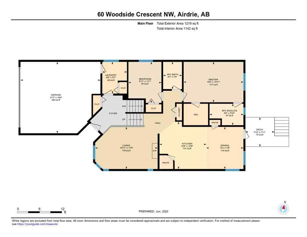 MLS® #C4304894 - 60 WOODSIDE Crescent NW in Woodside Airdrie, Residential Open Houses