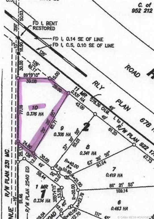 MLS® #CA0158377 - Lot 10 44 Avenue Close  in  Alix, Land Open Houses