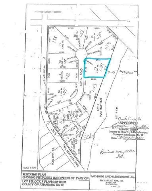 MLS® #FM0133624 - Lot 13 Block 7 Plan 1421658   in  Boyle, Land Open Houses