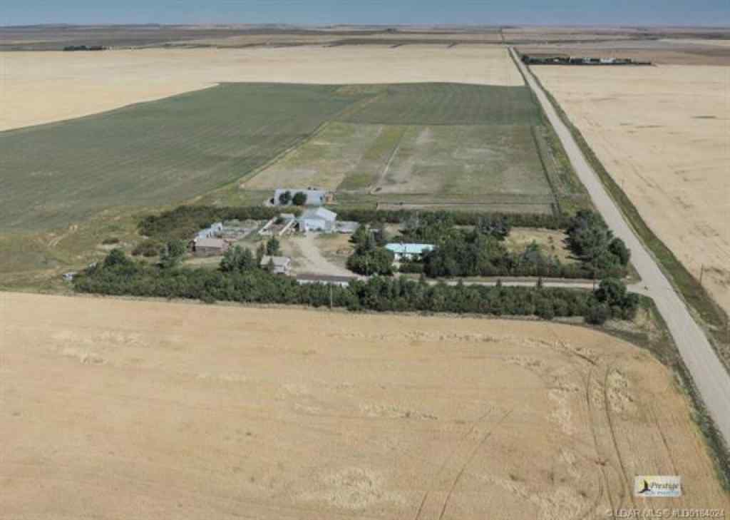 MLS® #LD0184024 - On Range Road 152   in  Coutts, Farm Open Houses