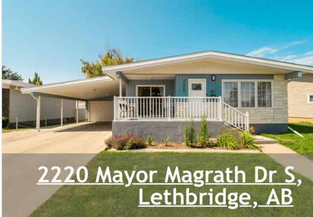 2220 MAYOR MAGRATH Drive S in Agnes Davidson Lethbridge