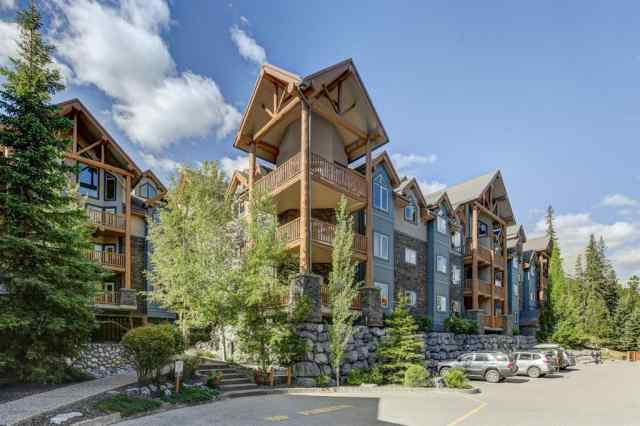 309, 155 Crossbow Place in Three Sisters Canmore