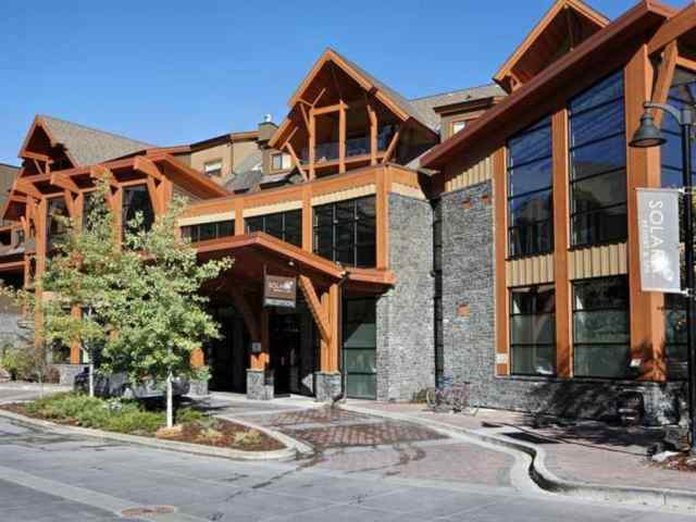 Bow Valley Trail real estate 202, 173 Kananaskis  Way in Bow Valley Trail Canmore