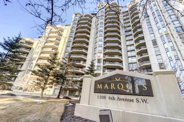401, 1108 6 Avenue SW in Downtown West End Calgary MLS® #A1029137