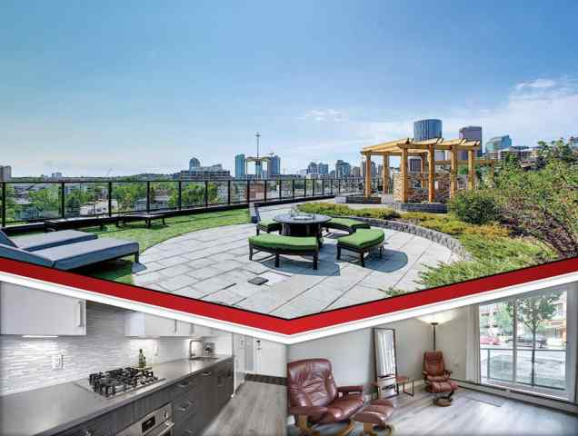 Bridgeland/Riverside real estate 113, 515 4 Avenue NE in Bridgeland/Riverside Calgary