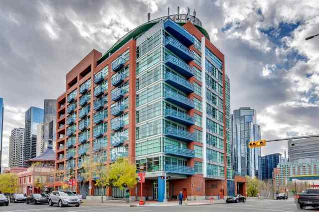 610, 205 Riverfront Avenue SW in Chinatown Calgary MLS® #A1033261