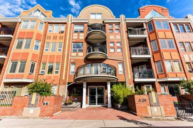 Lower Mount Royal real estate 215, 838 19 Avenue SW in Lower Mount Royal Calgary