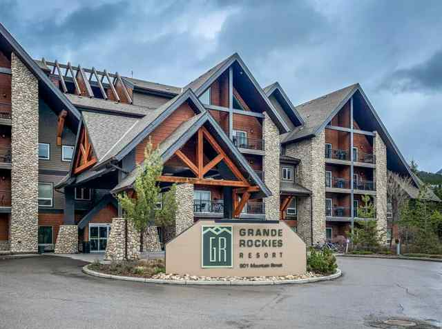 Bow Valley Trail real estate 223, 901 Mountain Street Street in Bow Valley Trail Canmore