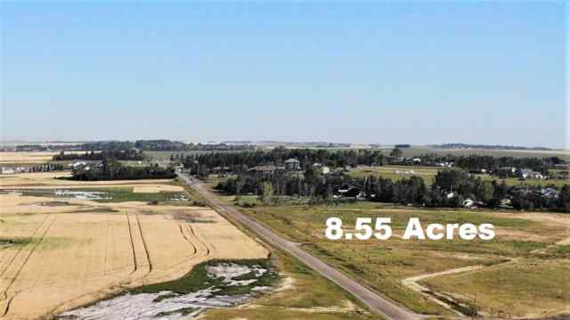 8.55 Acres Range Road 281 Road T1X 0M5 Chestermere