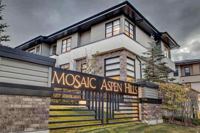 Aspen Woods real estate 104 ASPEN HILLS Villas SW in Aspen Woods Calgary