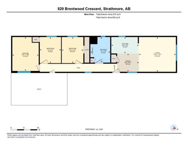 MLS® #A1042720 829 BRENTWOOD Crescent T1P 1E5 Strathmore