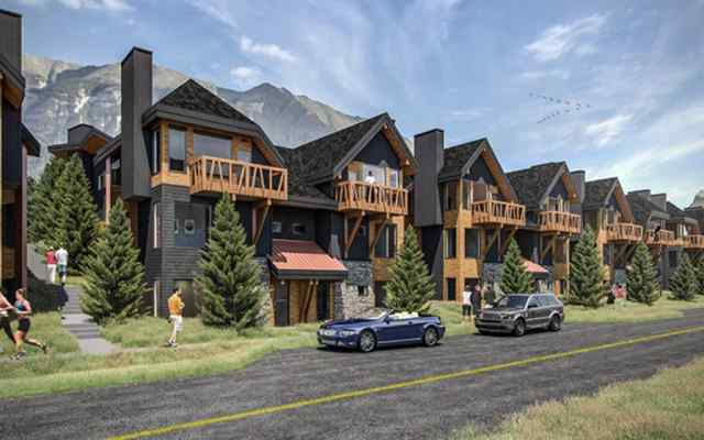 Three Sisters real estate 102A, 1200 Three Sisters  Parkway in Three Sisters Canmore
