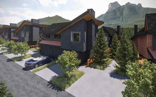 Three Sisters real estate 203A, 1200 Three Sisters Parkway in Three Sisters Canmore