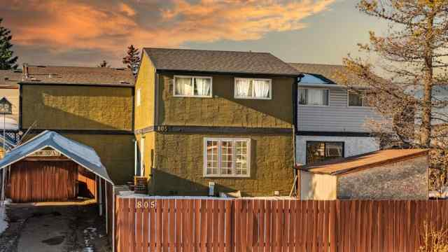 805 42A Street SE in Forest Heights Calgary MLS® #A1051188