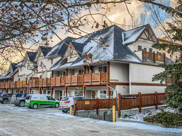 Bow Valley Trail real estate 202, 112 kananaskis  Way in Bow Valley Trail Canmore