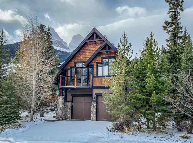 Three Sisters real estate 112 Casale Place in Three Sisters Canmore
