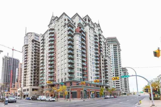 Downtown West End real estate 1408, 1111 6 Avenue SW in Downtown West End Calgary