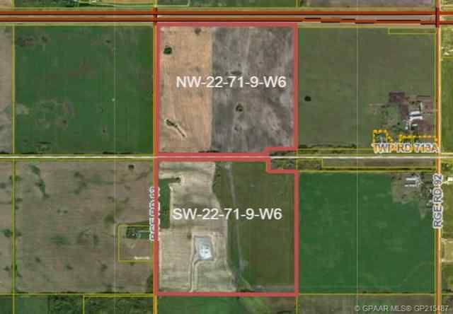 West Half 22-71-9-W6   in NONE Rural Grande Prairie No. 1, County of MLS® #A1058312