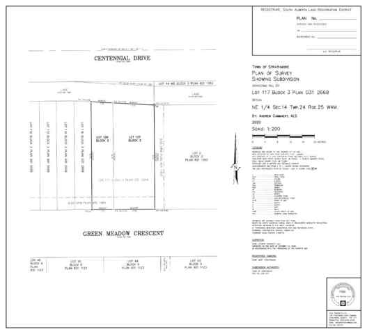 Lot 28 Green Meadow Crescent  in Green Meadow Strathmore MLS® #A1058768