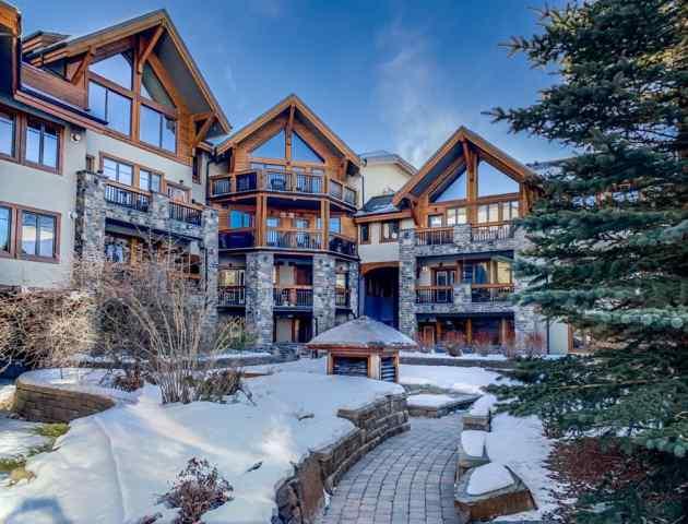 Spring Creek real estate 112, 505 Spring Creek Drive in Spring Creek Canmore