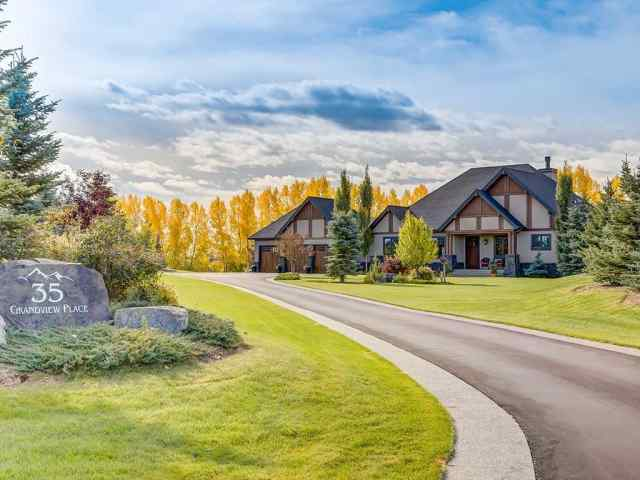 35 Grandview Place  in Springbank Rural Rocky View County MLS® #A1061425