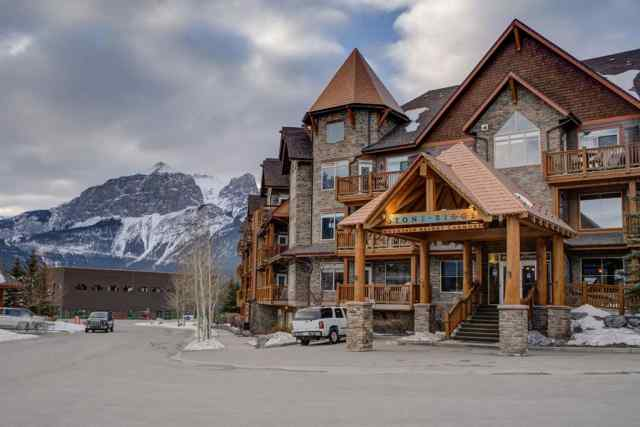 MLS® #A1064176 107, 30 Lincoln Park  T1W 3E9 Canmore