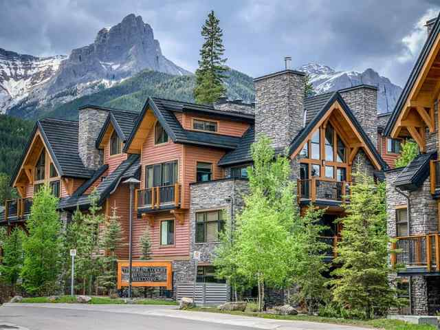Bow Valley Trail real estate 7101, 101G Stewart Creek Landing  in Bow Valley Trail Canmore