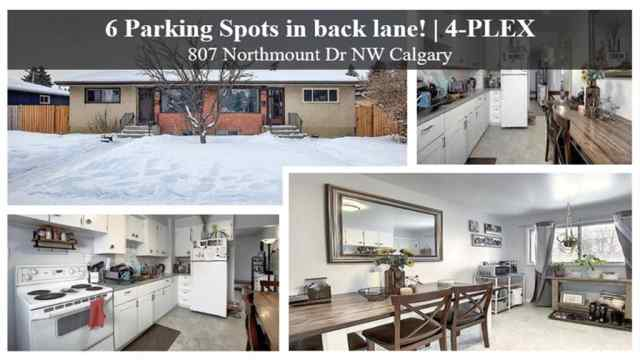 807 Northmount  Drive NW in  Calgary MLS® #A1069441