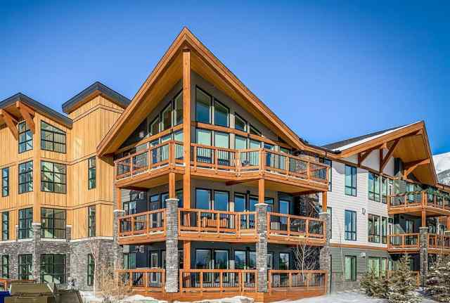 Three Sisters real estate 107, 106 Stewart Creek Rise  in Three Sisters Canmore
