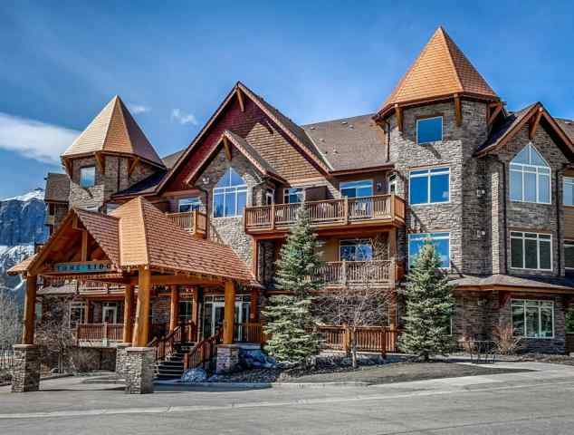 Bow Valley Trail real estate 207, 30 Lincoln Park in Bow Valley Trail Canmore