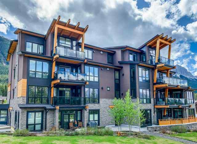 Three Sisters real estate 108, 101A Stewart Creek Rise in Three Sisters Canmore