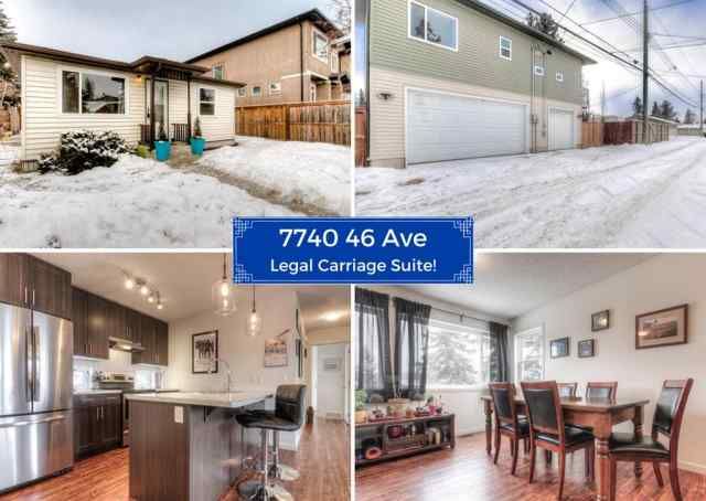 7740 46 Avenue NW in  Calgary MLS® #A1072611