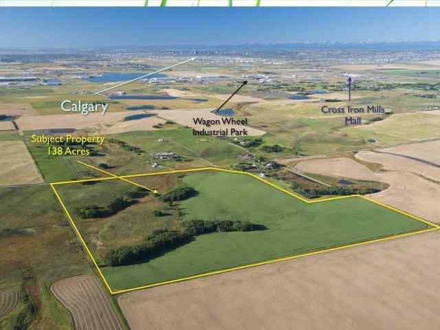 Township Road 264 and Range Rd 291   in NONE Balzac MLS® #C4142624