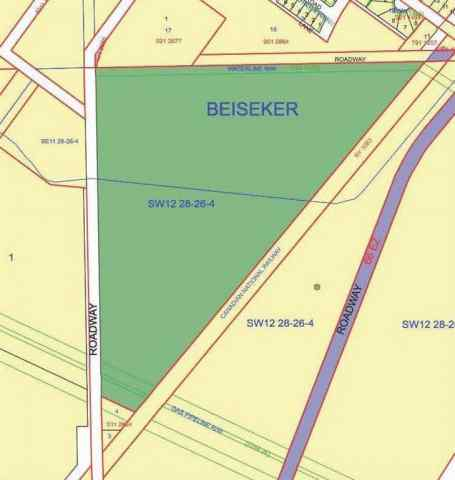 NONE real estate  W4, R26, T28, Sec 12, SW Beiseker   in NONE Beiseker