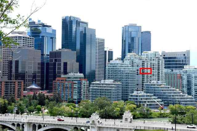 #1412 222 RIVERFRONT AV SW in  Calgary