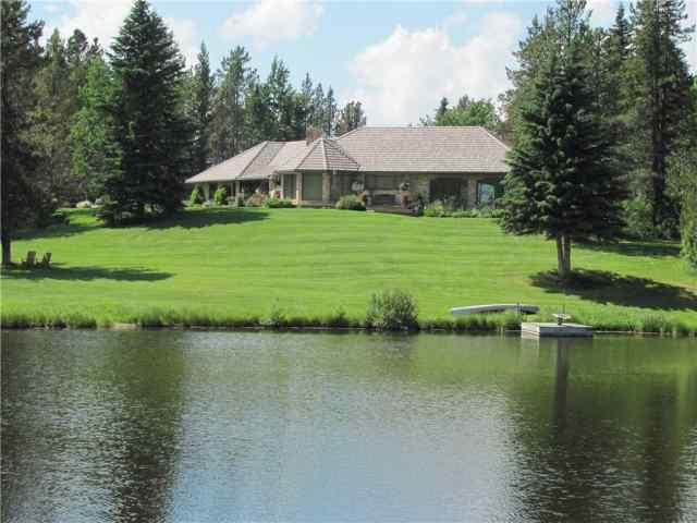 159 ac Lakefront Bragg Creek   in NONE Rural Foothills County MLS® #C4281305