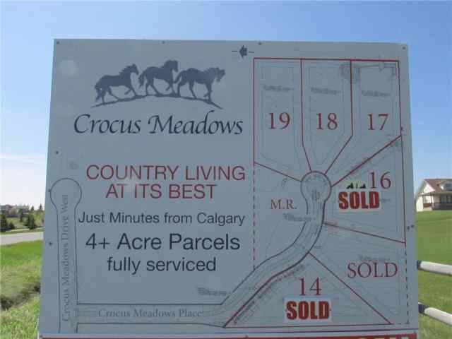 MLS® #C4285395 # 17 Crocus Meadows PL W T1S 1A2 Rural Foothills County